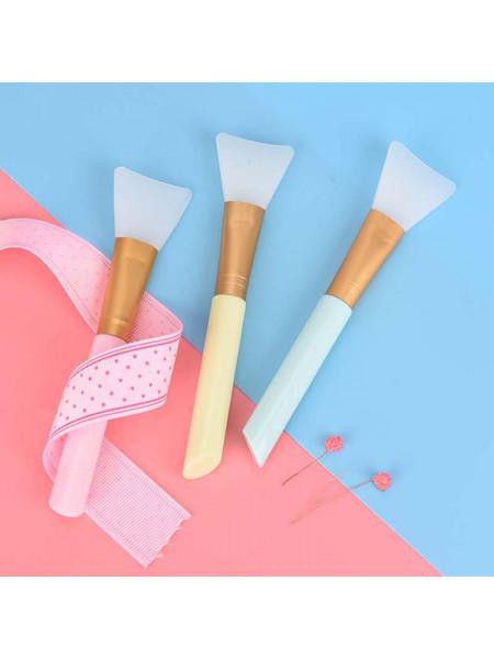 Силиконовый шпатель для нанесения масок и парафина (цвет в ассортименте)