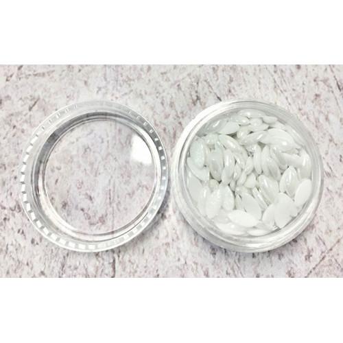Капельки для дизайна ногтей 3х6мм (керамика)
