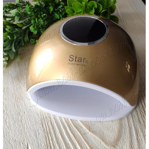 Лампа для сушки гель лака Star 5 UVLed 48W (золотая) в Санкт-Петербурге