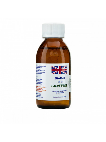 Биогель Biogel +aloe vera для кислотного педикюра 120 ml