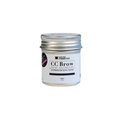 Хна для бровей CC Brow (black) в баночке (черный), 5 гр