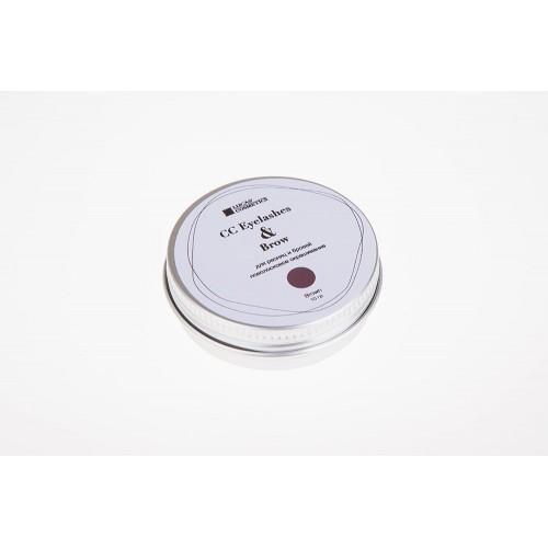 Хна для окрашивания ресниц и бровей CC Eyelashes&Brow в баночке (коричневая), 10гр