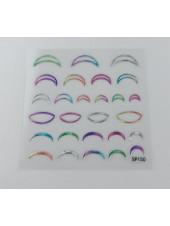3D наклейки для дизайна ногтей №150