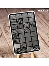 Пластина для стемпинга Art-A MAX 17-43