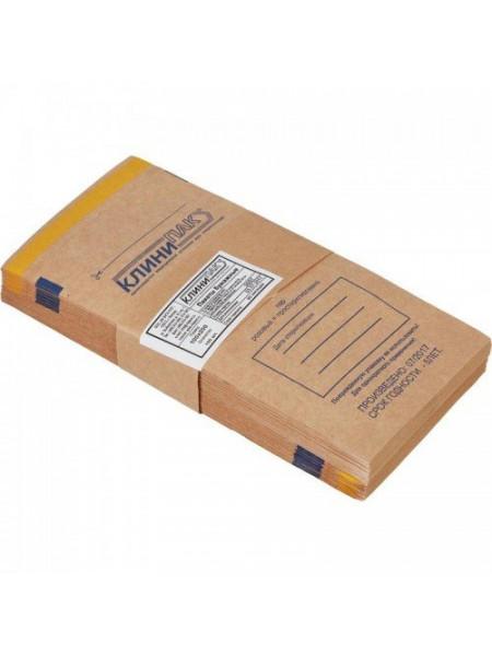 "Пакеты бумажные самоклеящиеся ""Клинипак"" 100х200 (крафт, 100шт.)"